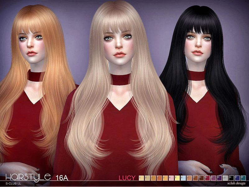 Sims 4 lange haare manner