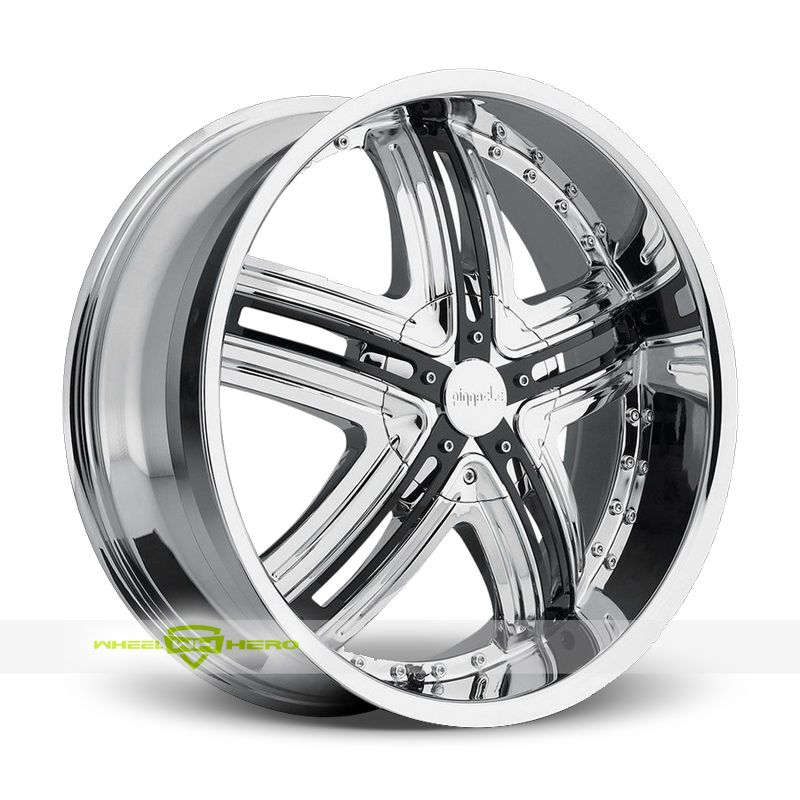 Pinnacle Halo Chrome Wheels For Sale For More Info Http Www Wheelhero Com Customwheels Pinnacle Halo Chrome Wheel Rims Black Wheels Chrome Wheels