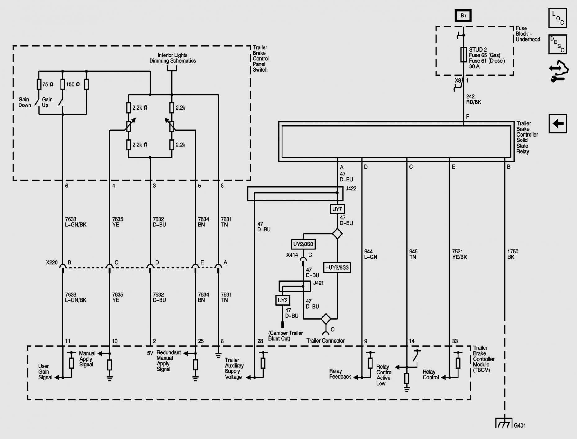 16+ 1993 Chevy Truck Wiring Diagram - Truck Diagram - Wiringg.net in 2020 |  Trailer wiring diagram, Tekonsha, DiagramPinterest