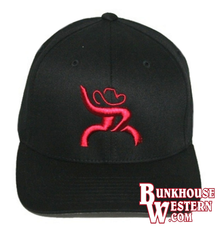 Red Roughy Youth Cap Black Baseball Cap Cowboy Hat Bull