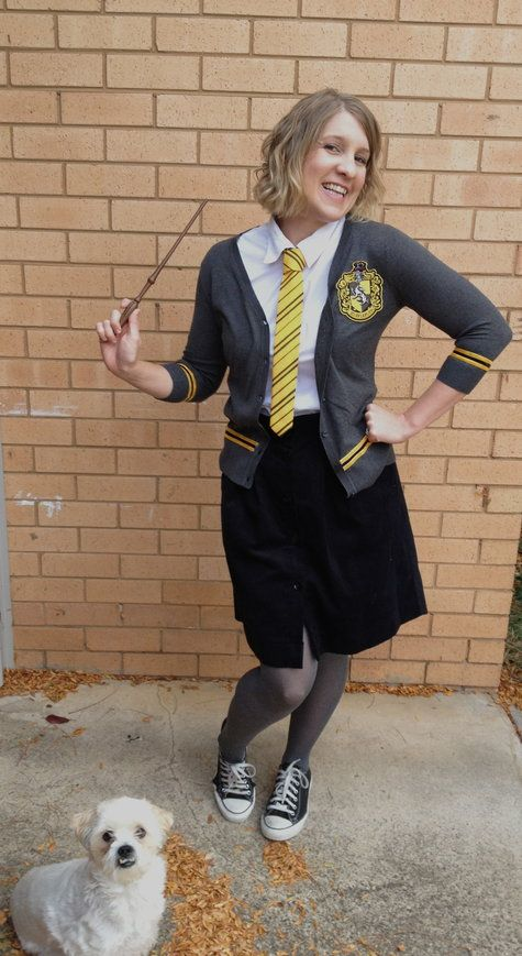 Hufflepuff Uniform Kelly Skirt Harry Potter Harry Potter Cosplay