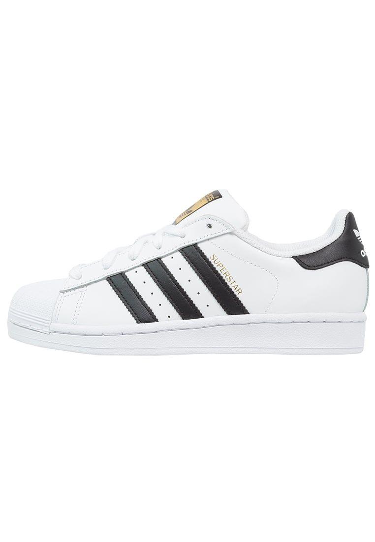 adidas OriginalsSUPERSTAR - Trainers - core black/footwear white n8RvnHU