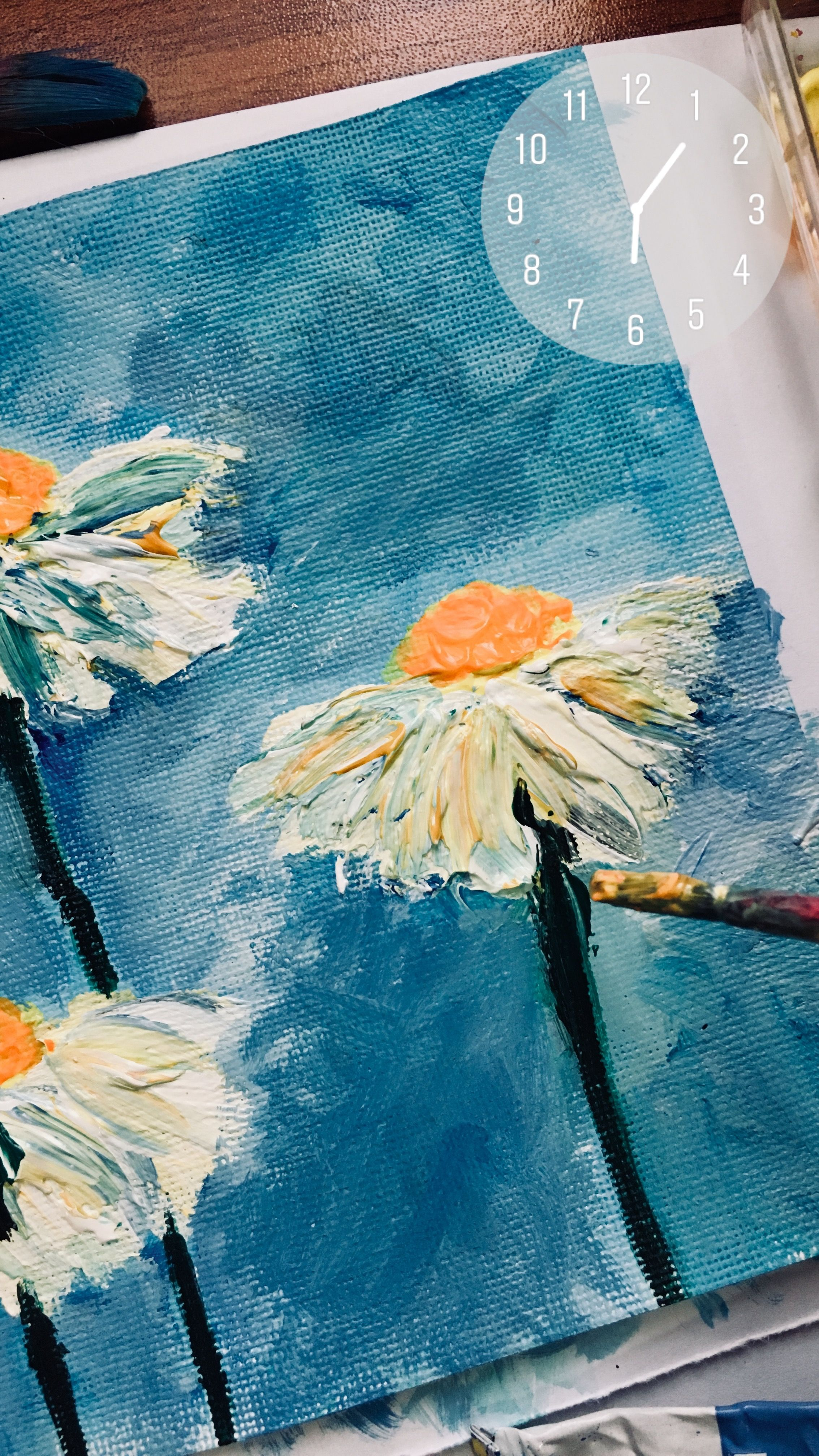 Acrylic Painting Aesthetic : acrylic, painting, aesthetic, Acrylics, Canvas, Paper, Painting,, Aesthetic, Painting