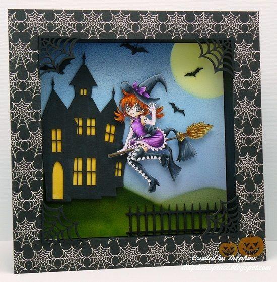 Make it Crafty Store – Halloween Shadow Box