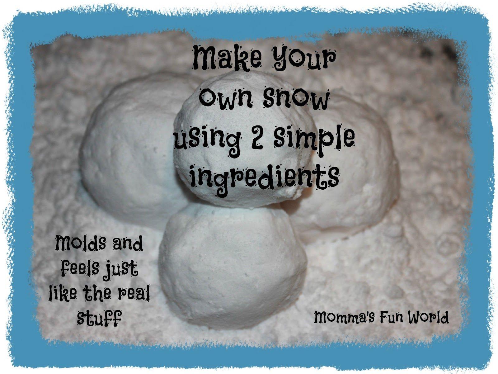 How to make fake snow diy snow youtube