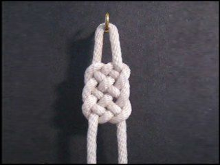 Website shows multiple knots that can be used for projects