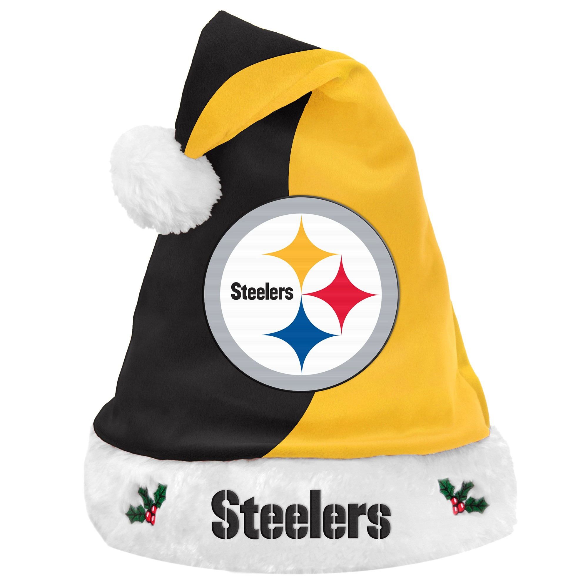 a15abecc NFL Pittsburgh Steelers Santa Hat | Products | Steelers hats ...