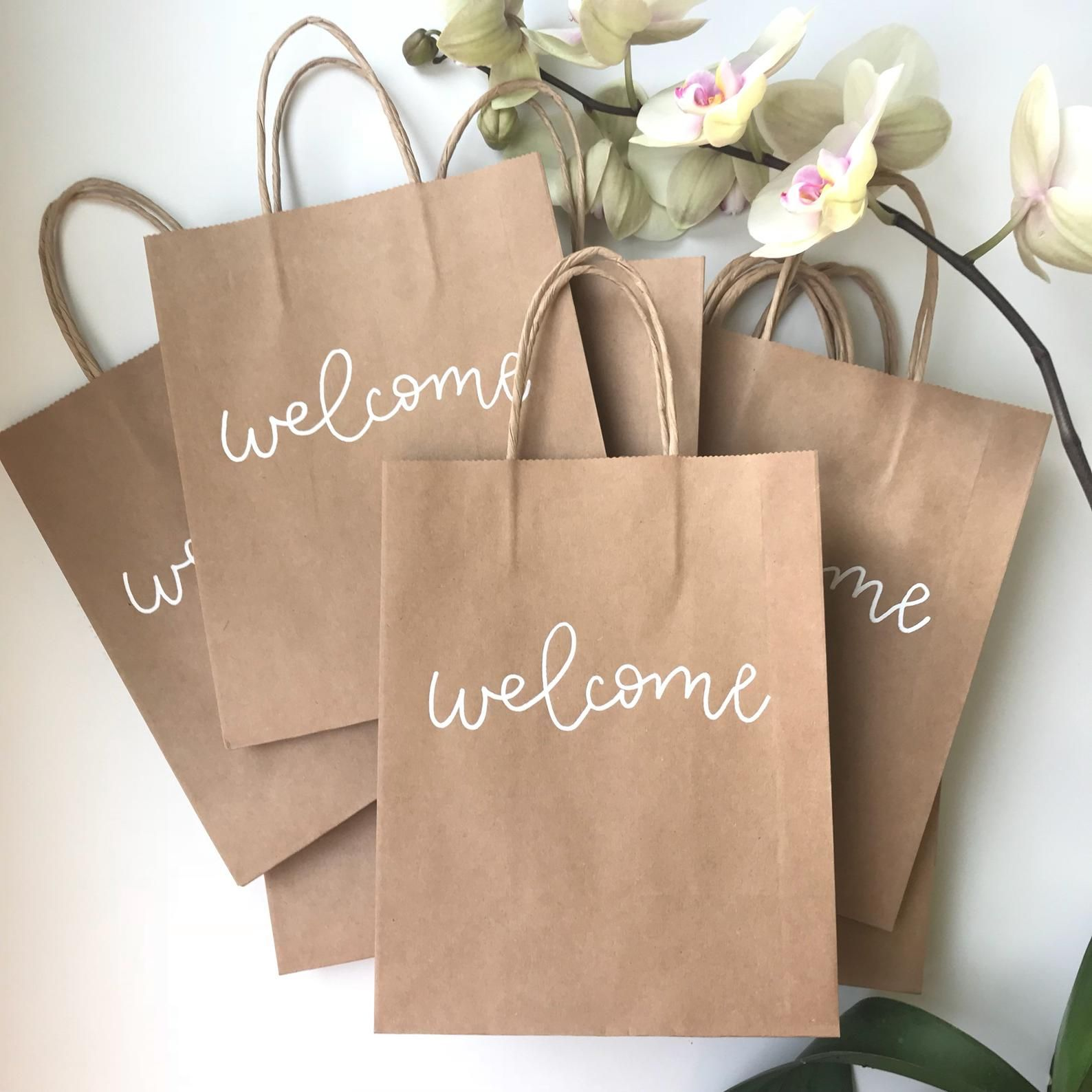 Custom Gift Bags Wedding Favor Bags Destination Wedding
