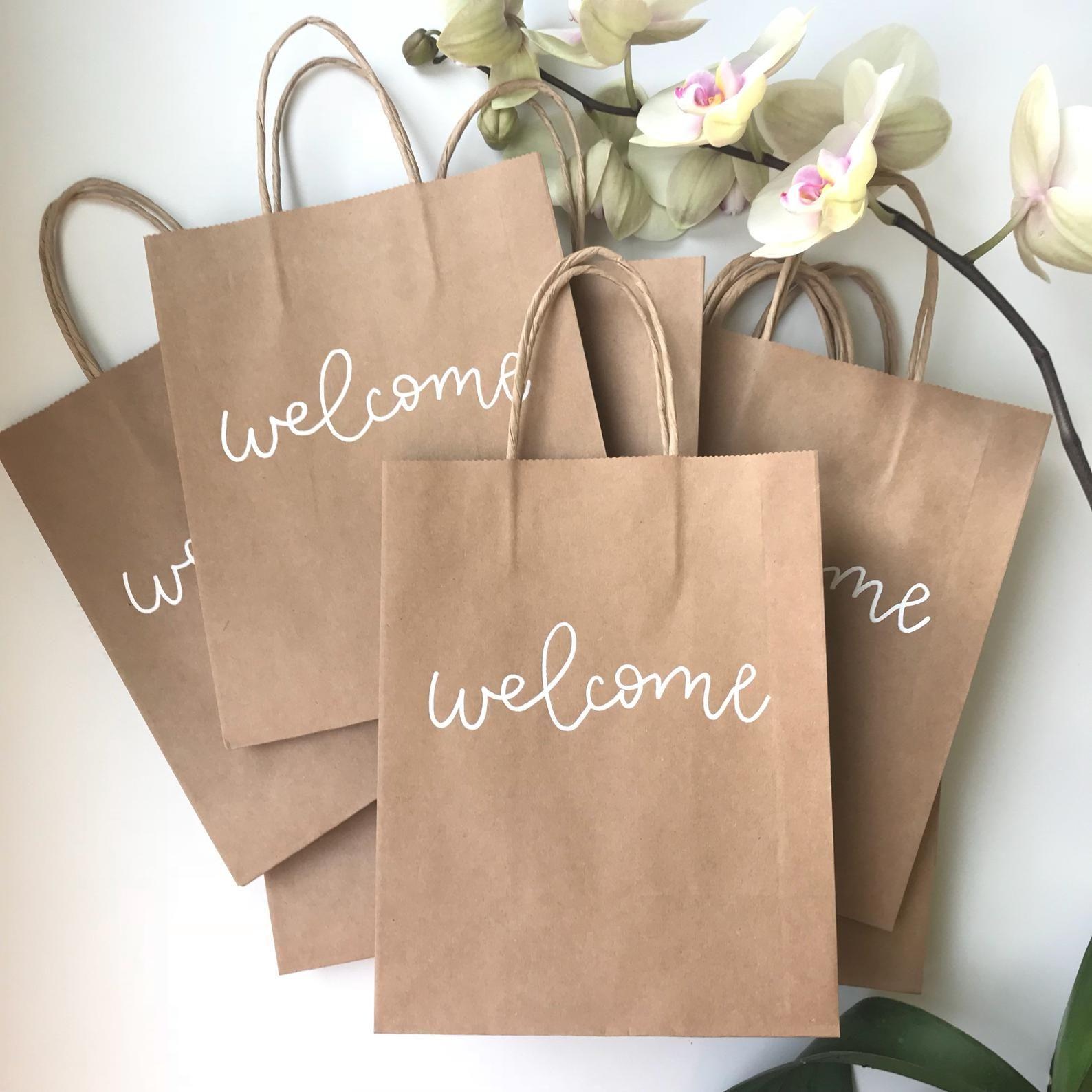 Destination Wedding Gift Ideas: Custom Gift Bags Wedding Favor Bags Destination Wedding