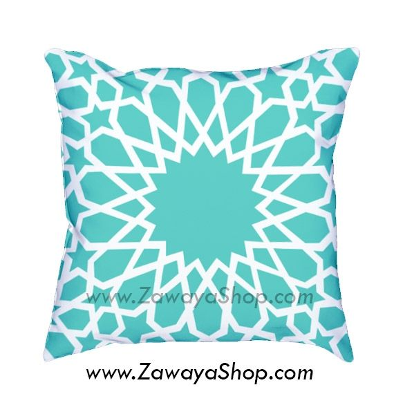 Decorative Pillows In Tiffany Blue : Decorative pillows oriental home decor Tiffany blue and white, colors can be customized ...