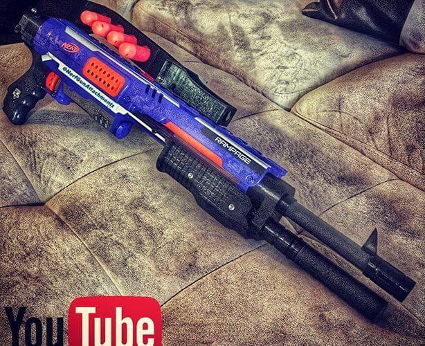 Buy Nerf N-Strike Elite Rough Cut 2x4 Blaster Online at Low Prices in India  - Amazon.in