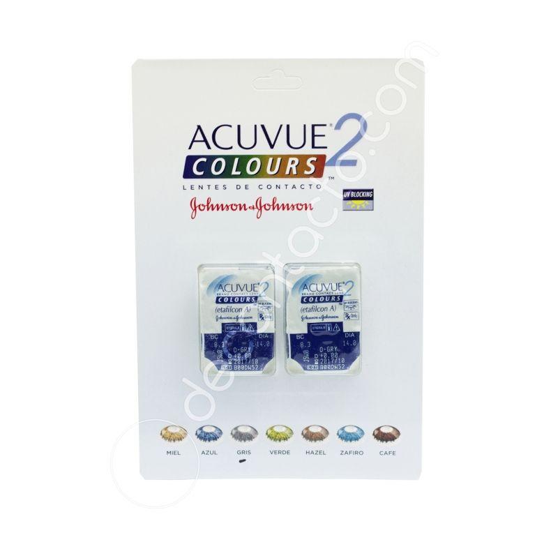 ac96514644e48 Los lentes de contacto Acuvue 2 Colours son blandos cosméticos de uso  diario