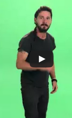 Shia Labeouf Screams Just Do It At You For A Solid Minute Just Do It Shia Labeouf Shia