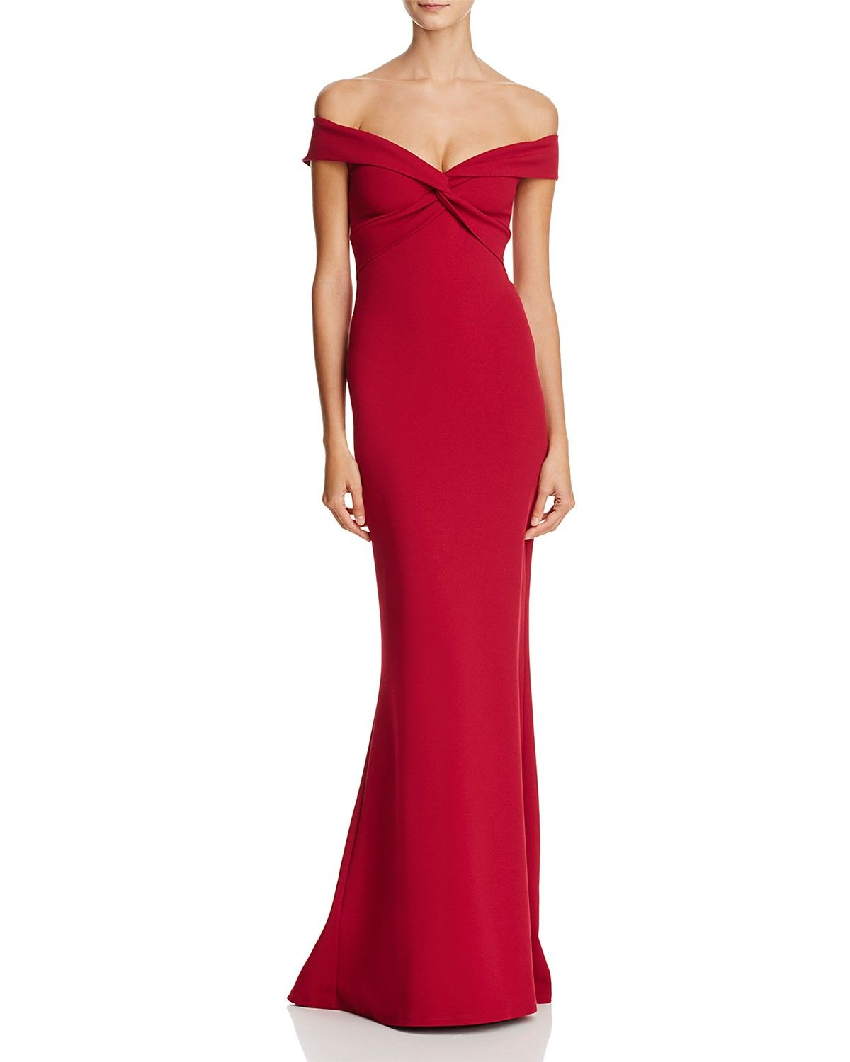 Nookie Dolly Off The Shoulder Gown Women Dresses Evening Formal Gowns Bloomingdale S Gowns Evening Gowns Formal Red Prom Dress [ 1500 x 1200 Pixel ]