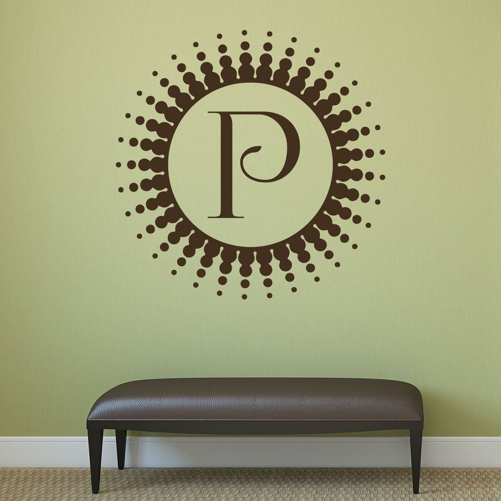 Famous Wall Decor Initial Letters Pattern - The Wall Art Decorations ...