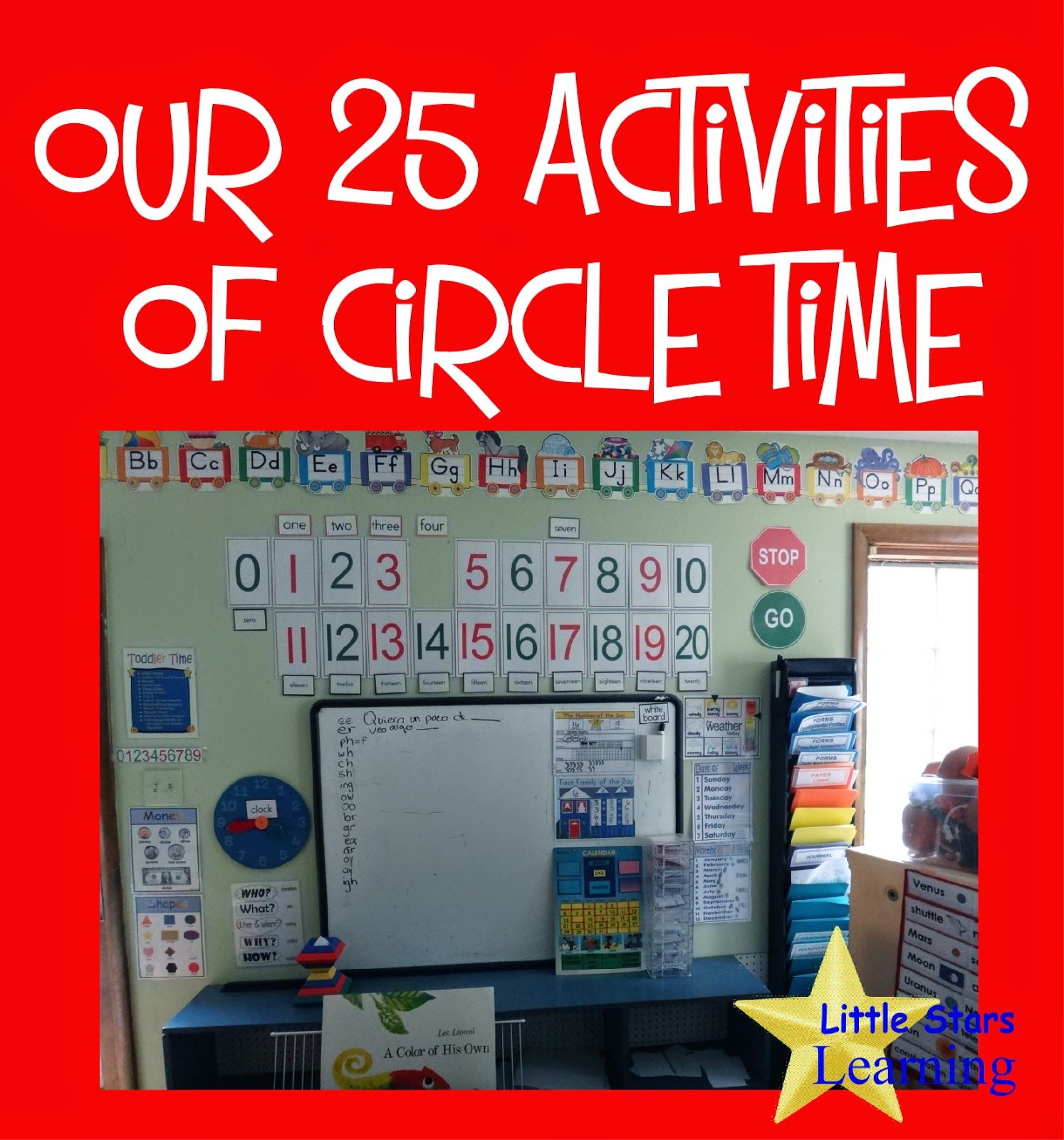 Little Stars Learning Our 25 Activities Of Circle Time