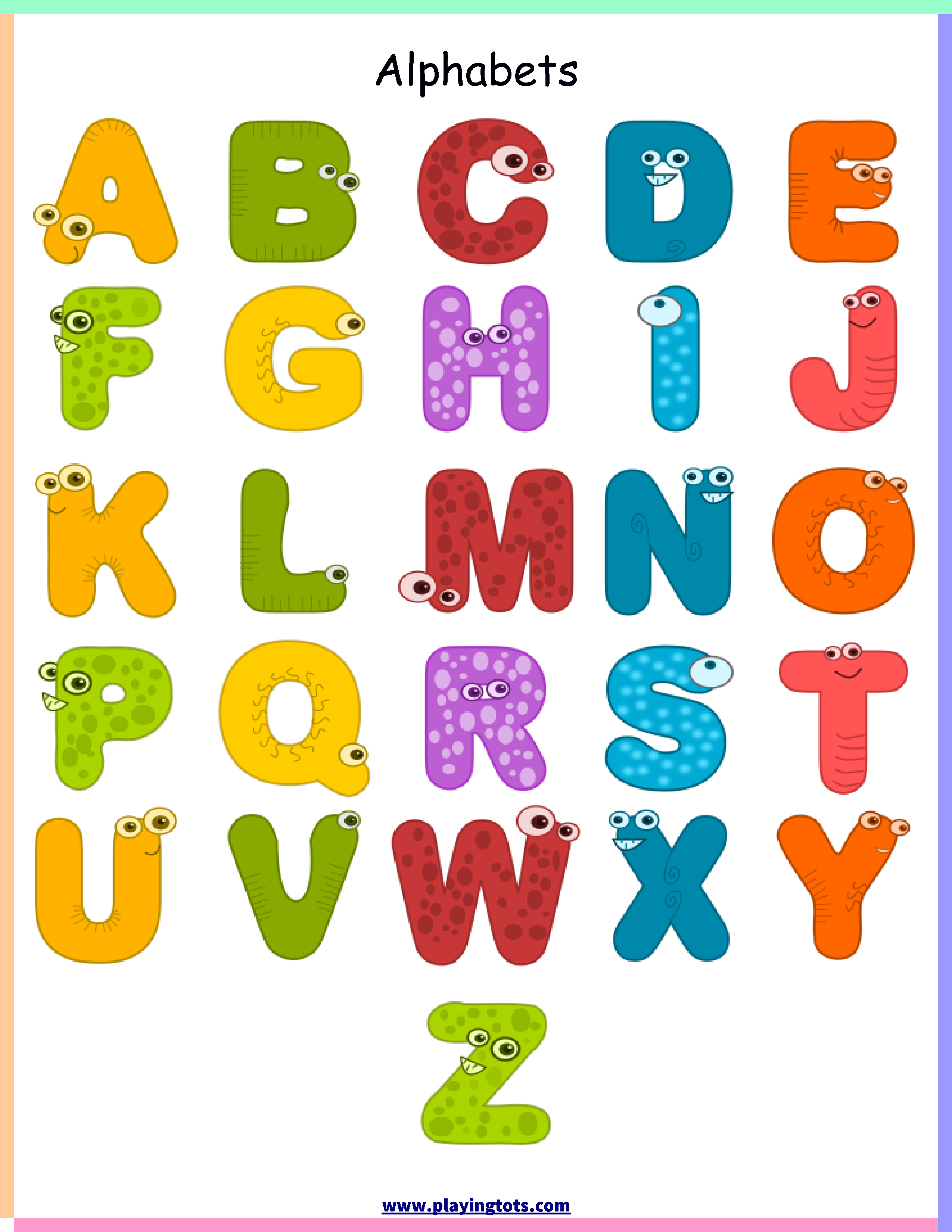 Free Printable For Kids Toddlers Preschoolers Flash