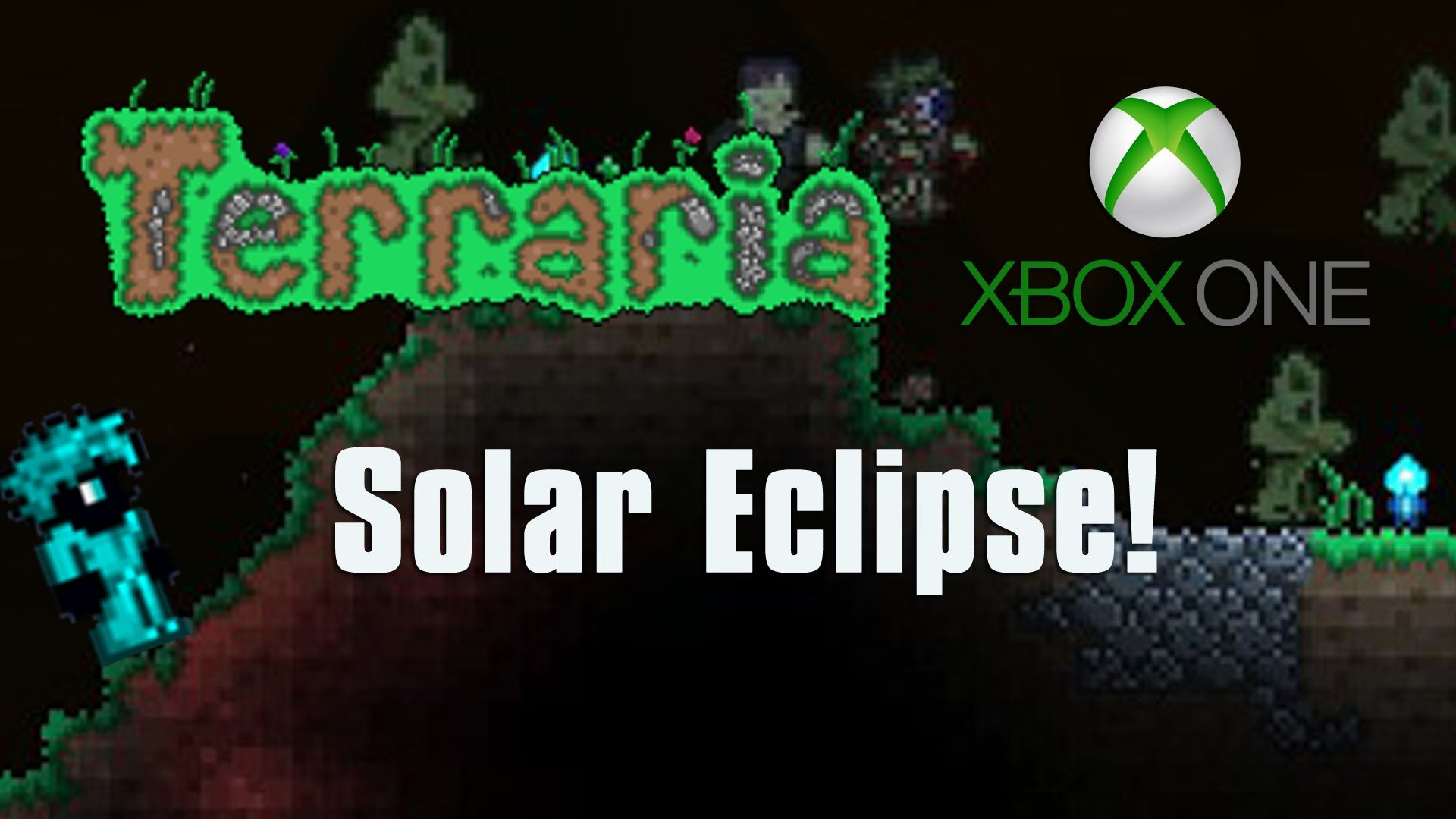 Terraria Xbox One Let S Play Solar Eclipse Epic Loot Farming Xbox One Let It Be Lets Play I have no problem surviving a solar eclipse, but when this monster appears, he kills me almost immediately in a crimson world, it is always good to inflict the ichor debuff on every ennemy you fight, maybe it won't work on mothron, but it will make the others mobs of the solar eclipse less of a bother. pinterest