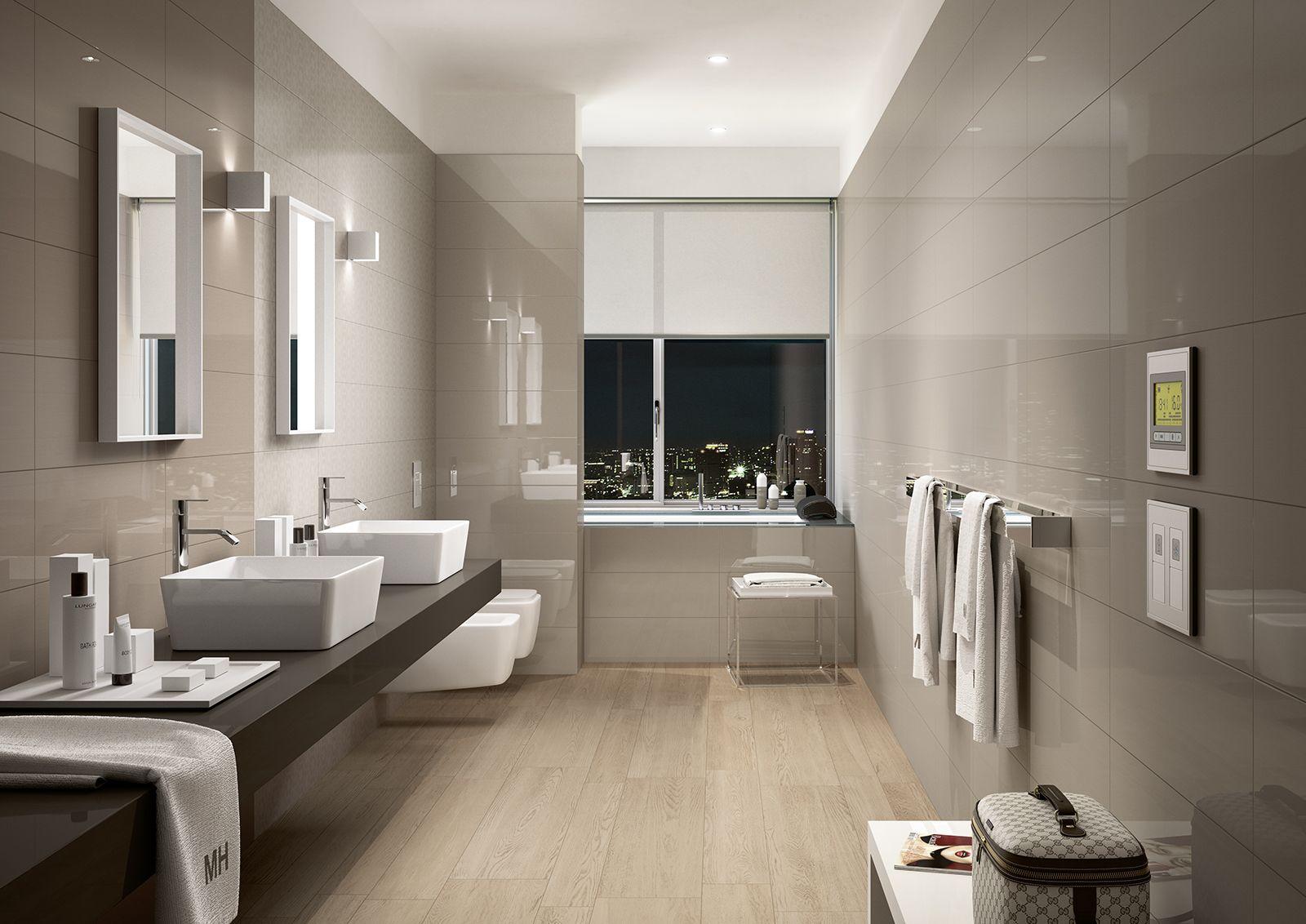 Colourline ceramica lucida per il rivestimento bagno for Idee per il bagno