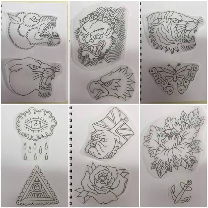 13 Tattoo Artists Share Some Of The Beautiful Flower: Traditional Tattoo Designs By Luke 13 Tattoo