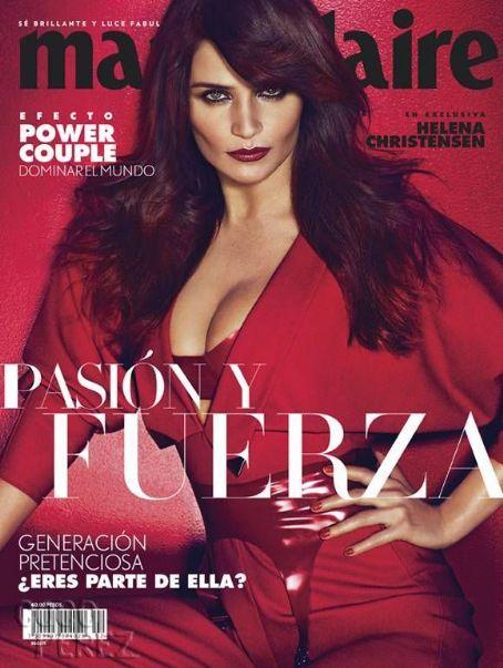 Helena Christensen - Marie Claire Magazine Cover [Mexico] (February 2015)
