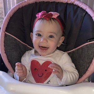 Shabby Chic Baby Headband