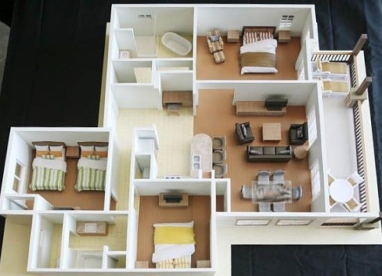 20 Gambar Denah Rumah Ukuran 8x10 3 Kamar Tidur 13 Desain Rumah Minimalis Rumah Minimalis Denah Rumah Denah Desain Rumah