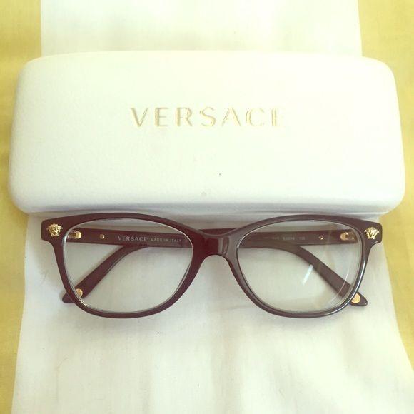 fd1c3e8c7c6ad Versace Eyeglasses Optical Frames Black (VE3153) Black Versace eyeglasses!  In great condition no