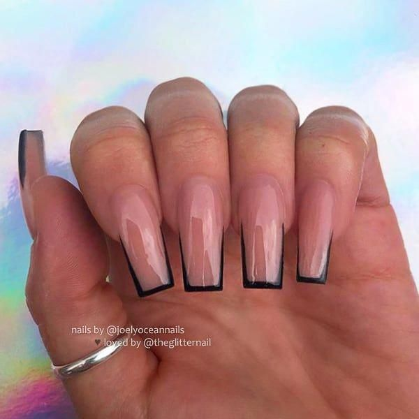 Installation Of Acrylic Or Gel Nails Square Acrylic Nails Tapered Square Nails Long Acrylic Nails