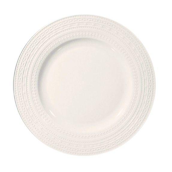 La Porcellana Bianca Casale Rim Dinner Plates Set of 4  sc 1 st  Pinterest & La Porcellana Bianca Casale Rim Dinner Plates Set of 4 | To Fill ...