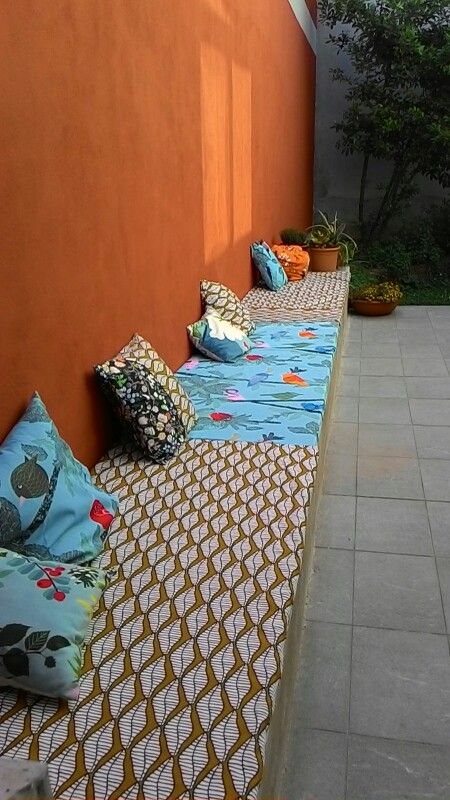 Divano da esterno di Frida Burrone