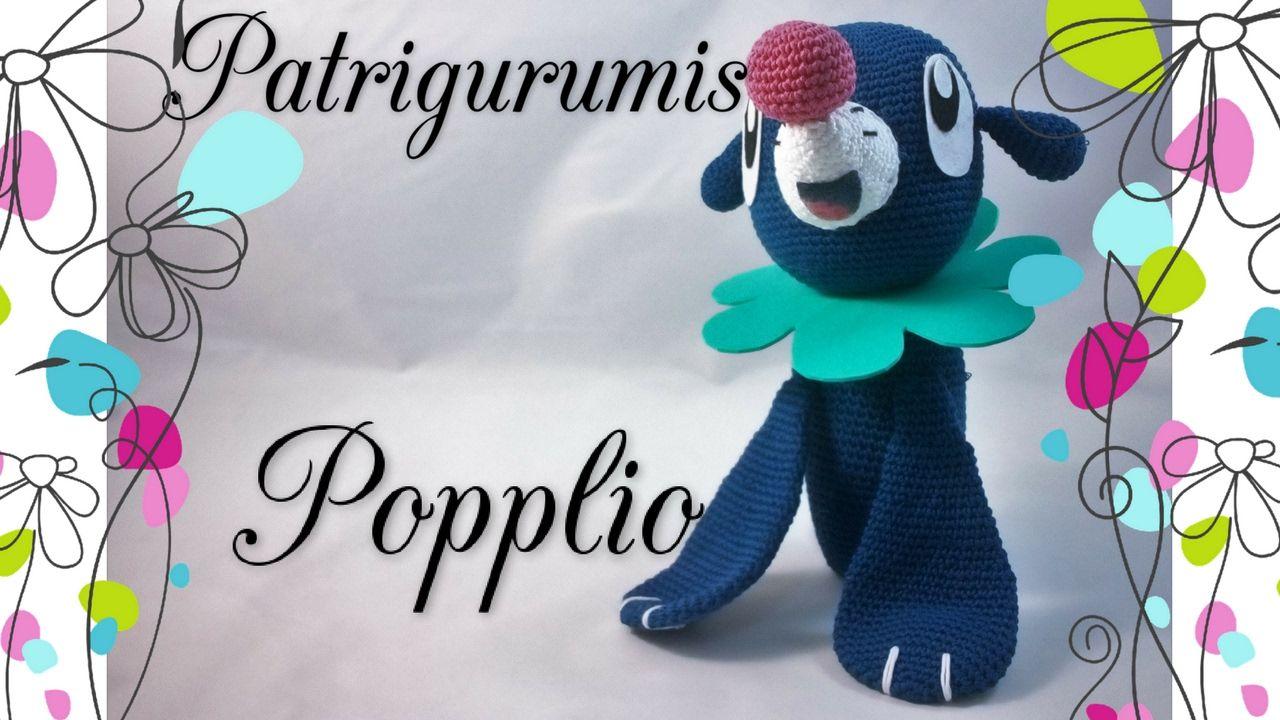 Popplio Amigurumi - Pokemon | Patrigurumis | Pinterest