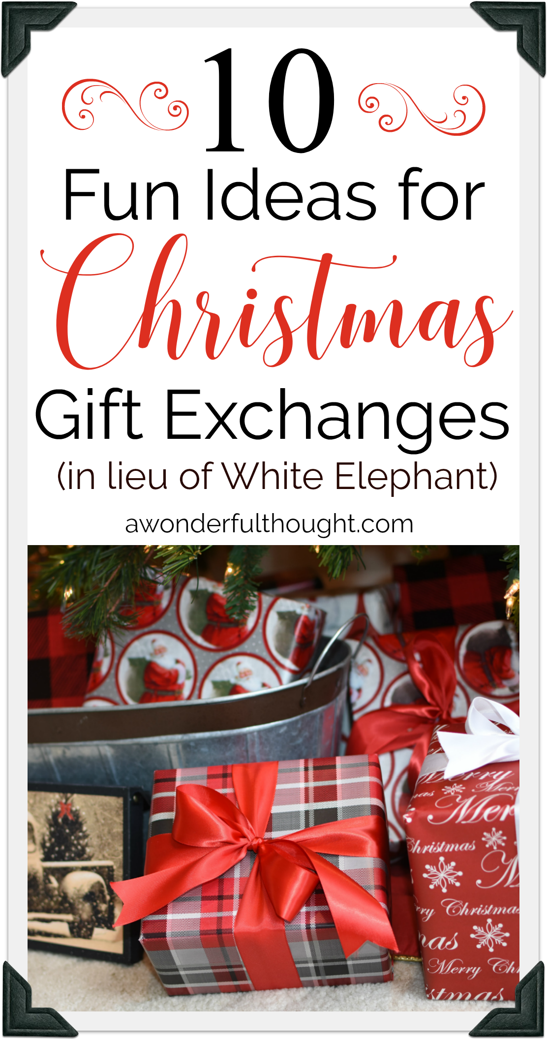 Christmas Gift Exchange Ideas | Christmas gifts for adults ...