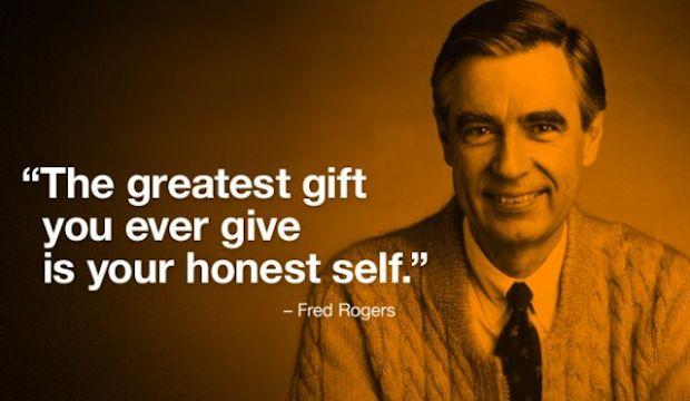 Image result for fred rogers the greatest gift you ever give