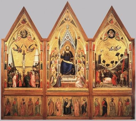 The Stefaneschi Polyptych || Giotto