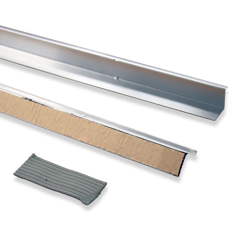 Doorbrella 2 36 Pieces And Putty Seal Natural Aluminum Metal Roof Roof Coating Home Depot