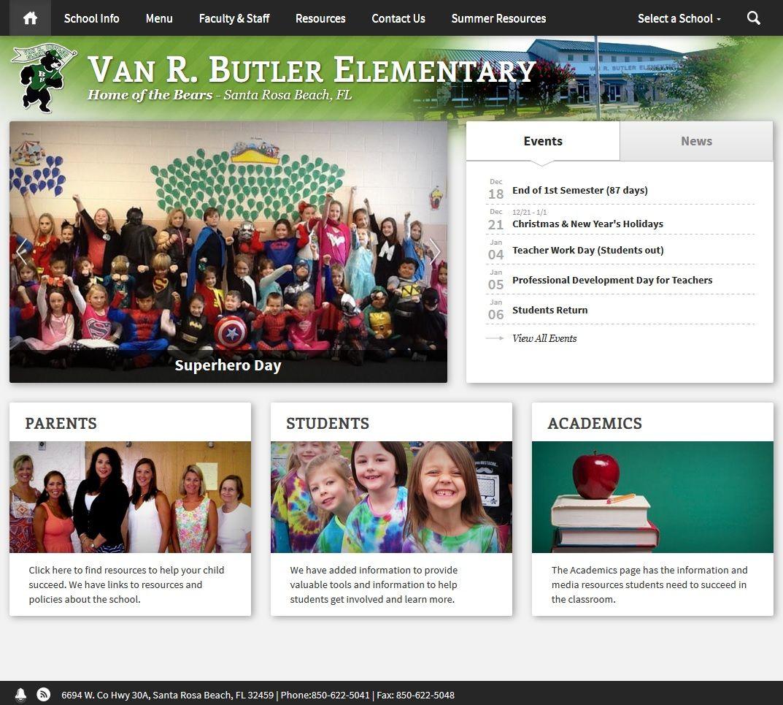 Van R. Butler Elementary 6694 W. Co Hwy 30A, Santa Rosa
