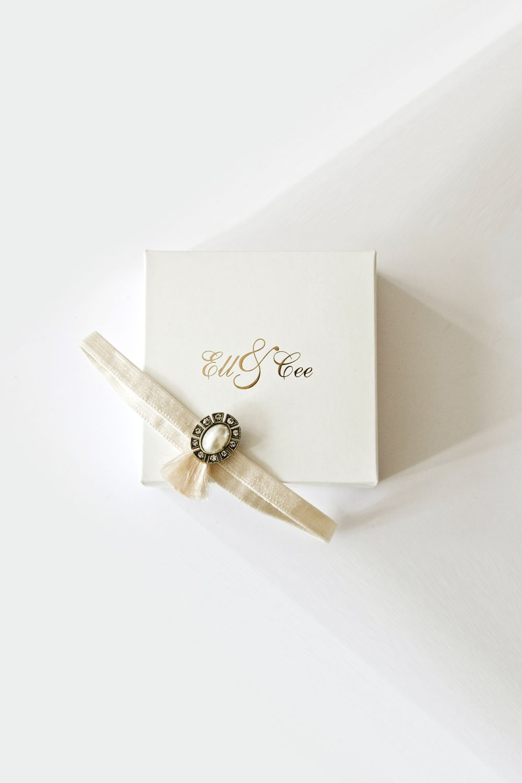 VICTORIANA GARTER - £32.00 : Bridal Underwear.  #Bride #EllandCee #wedding #garter