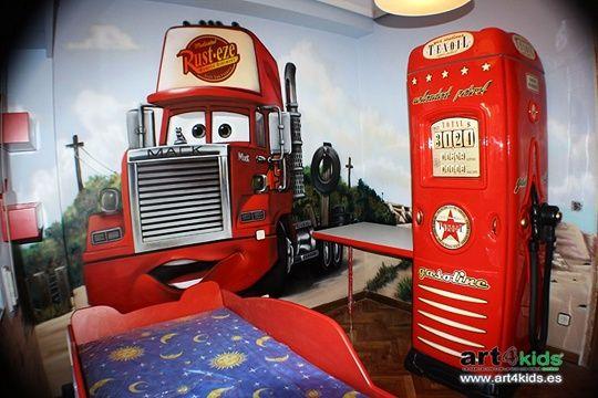 Decoracion cars 3 coches pinterest decoracion cars y - Habitaciones tematicas infantiles ...