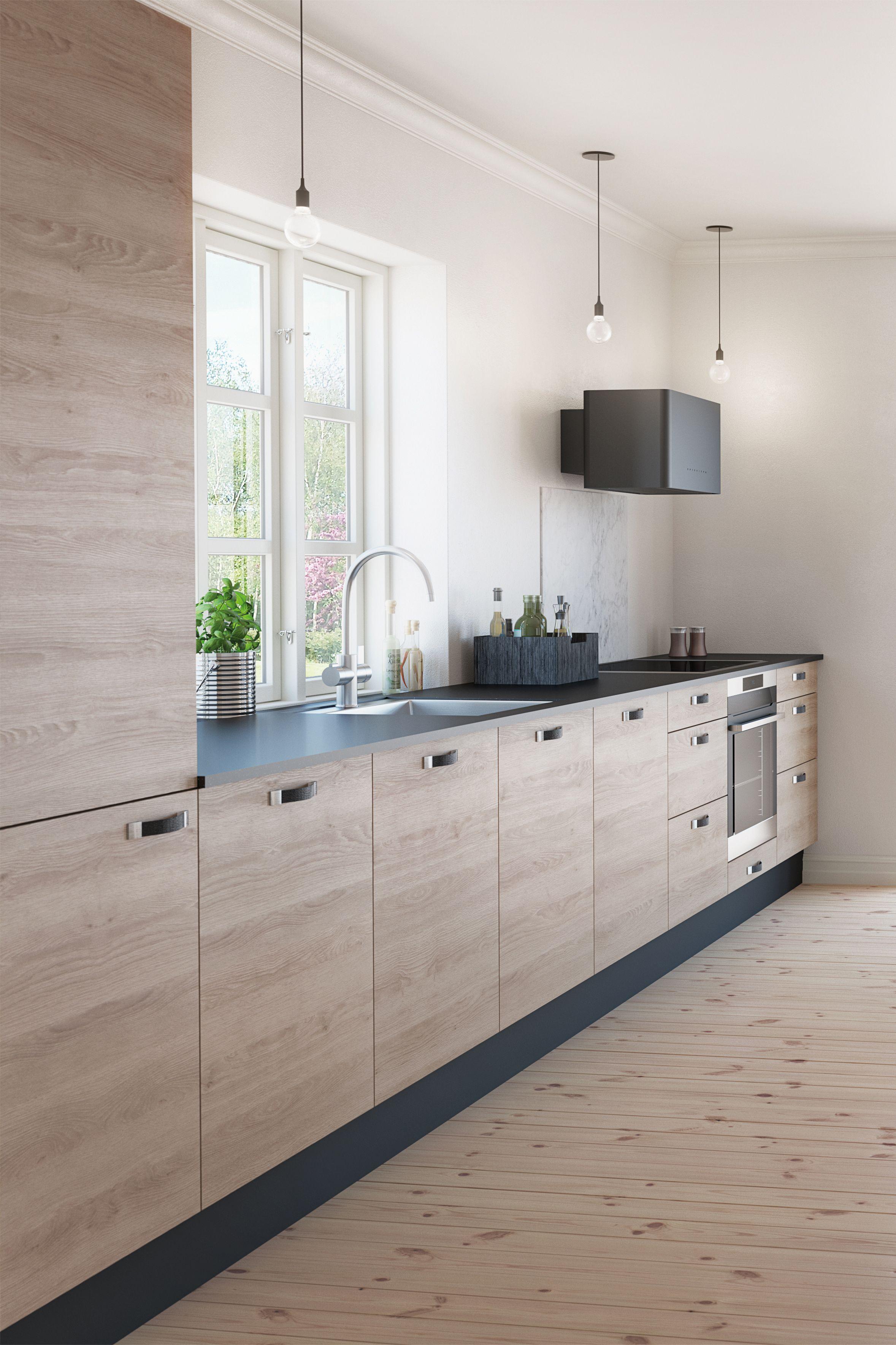 Køkken i model Yellowstone Eg fra AUBO Køkken & Bad. #kitchen ...