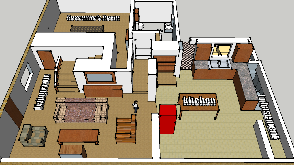 "Conner Family #FloorPlan From ""Roseanne"""