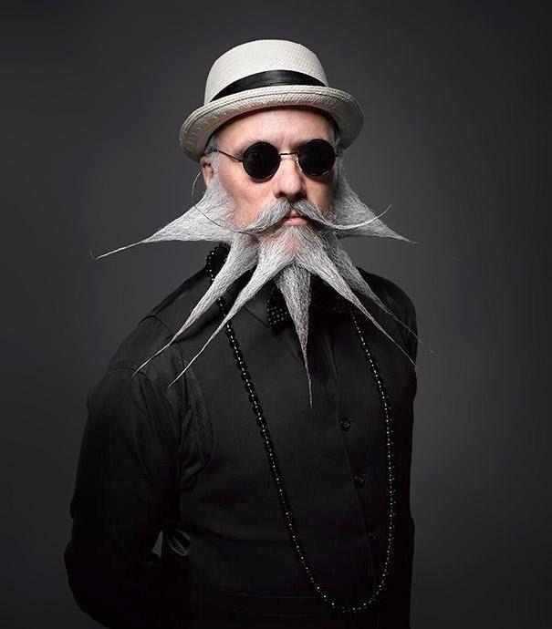 Les 20 Plus Belles Photos Du Dernier Championnat De Barbes Et Moustaches Barbe Pas De Moustache Barbe Sans Moustache Barbe Folle