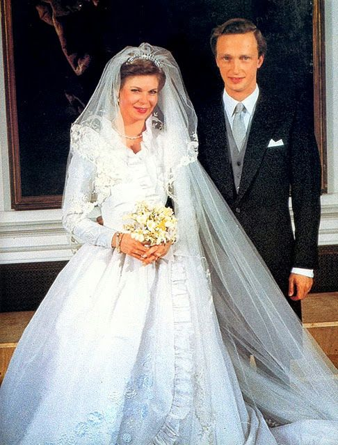 H.R.H. Princess Marie Astrid of Luxembourg and H.I.R.H. Archduke Carl Christian of Austria  (1982)