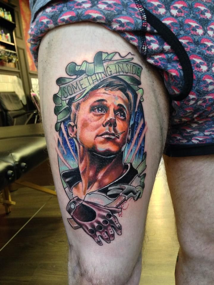 Drive Movie Tattoo Ink Ryangosling Movie Tattoos Tattoos