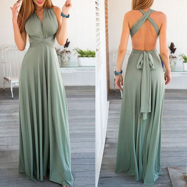 Multi-Way Wrap Dress