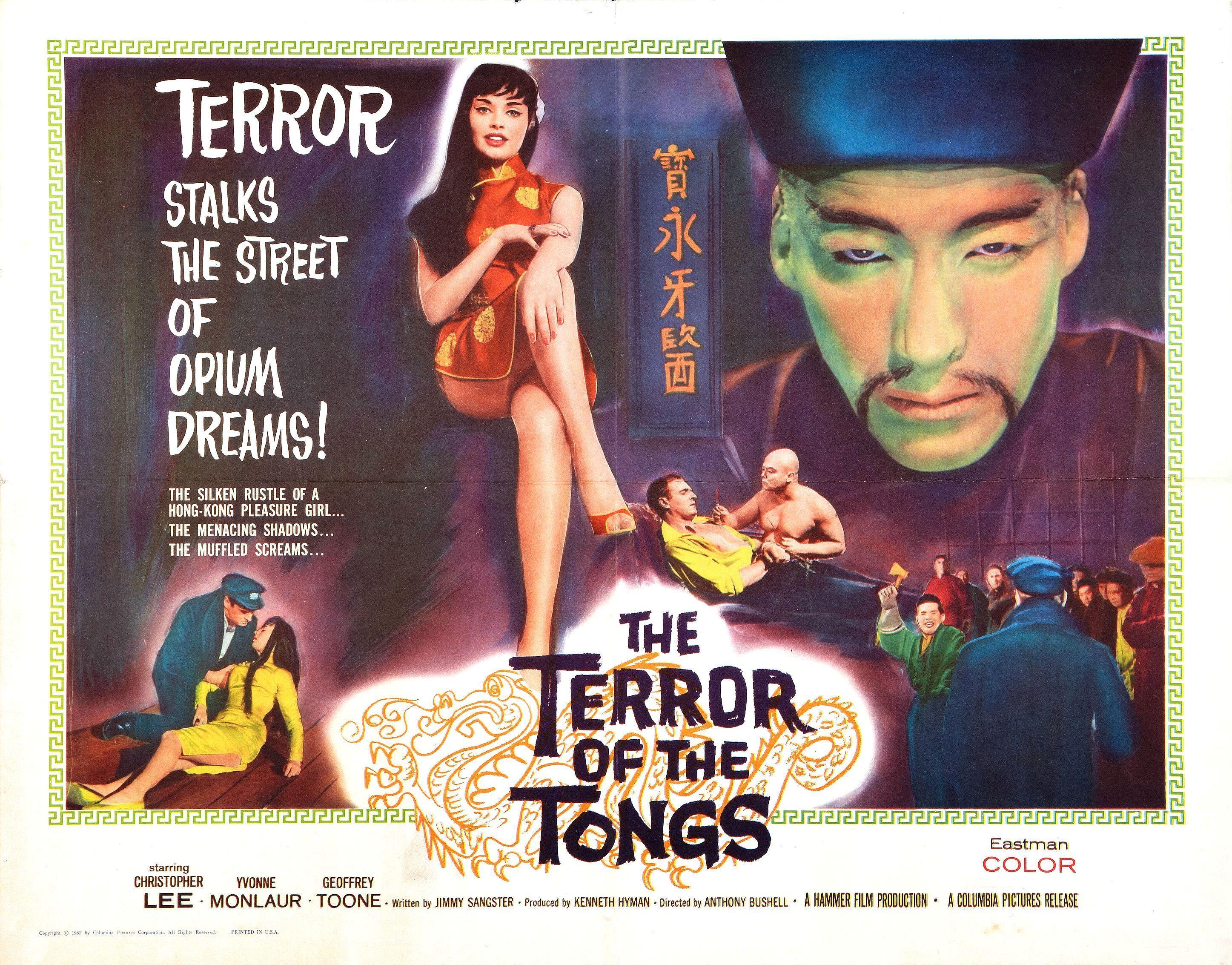 The Terror of the Tongs (1961)   Hammer films, Horror movie ...