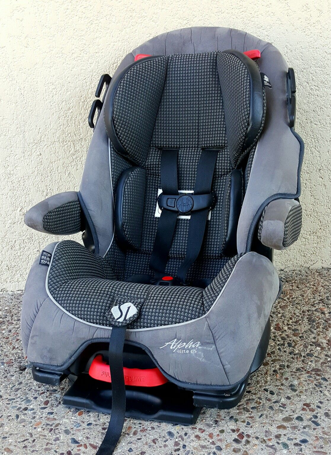 Safety 1st Alpha Elite 65 Convertible Car Seat infant