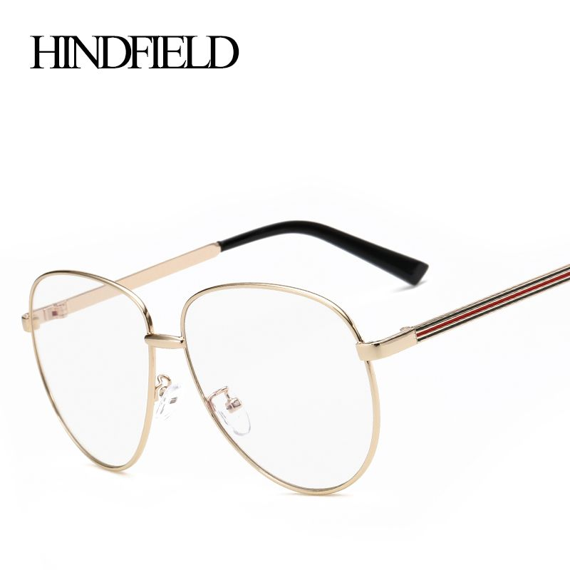 2016 New Fashion Men'S Optical Glasses Frame for Women High Quality Alloy Metal Eyeglasses Vintage Eyewear Swsdtbm4