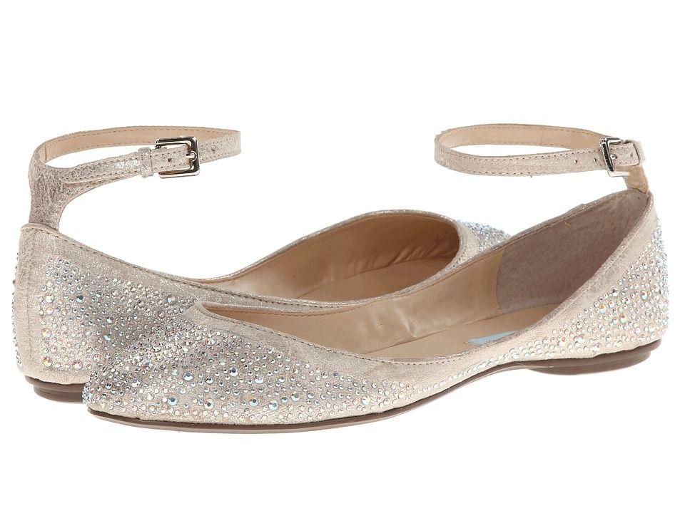 Vintage Style Wedding Shoes Boots Flats Heels Blue By Betsey Johnson Joy