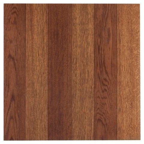Nexus Self Adhesive Plank Look Vinyl Floor Tile M Oak 12x12